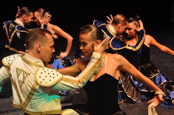 Танцор спортивных бальных танцев (Турция)